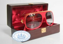 Louis Vuitton Millionaire Sunglasses Sunglasses,  Limited in RED