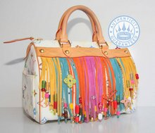 Louis Vuitton Multicolor Fringe Limited edition 2006 collection, Speedy 25 Bag
