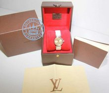 Louis Vuitton Q121M3 Watch, Ladies Lovely Diamond Dore