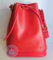Louis Vuitton Noe Handbag, Epi Leather in Red